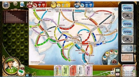 Legendary Asia DLC available for PC version of Ticket to Ride