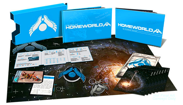 Gearbox's Homeworld HD is