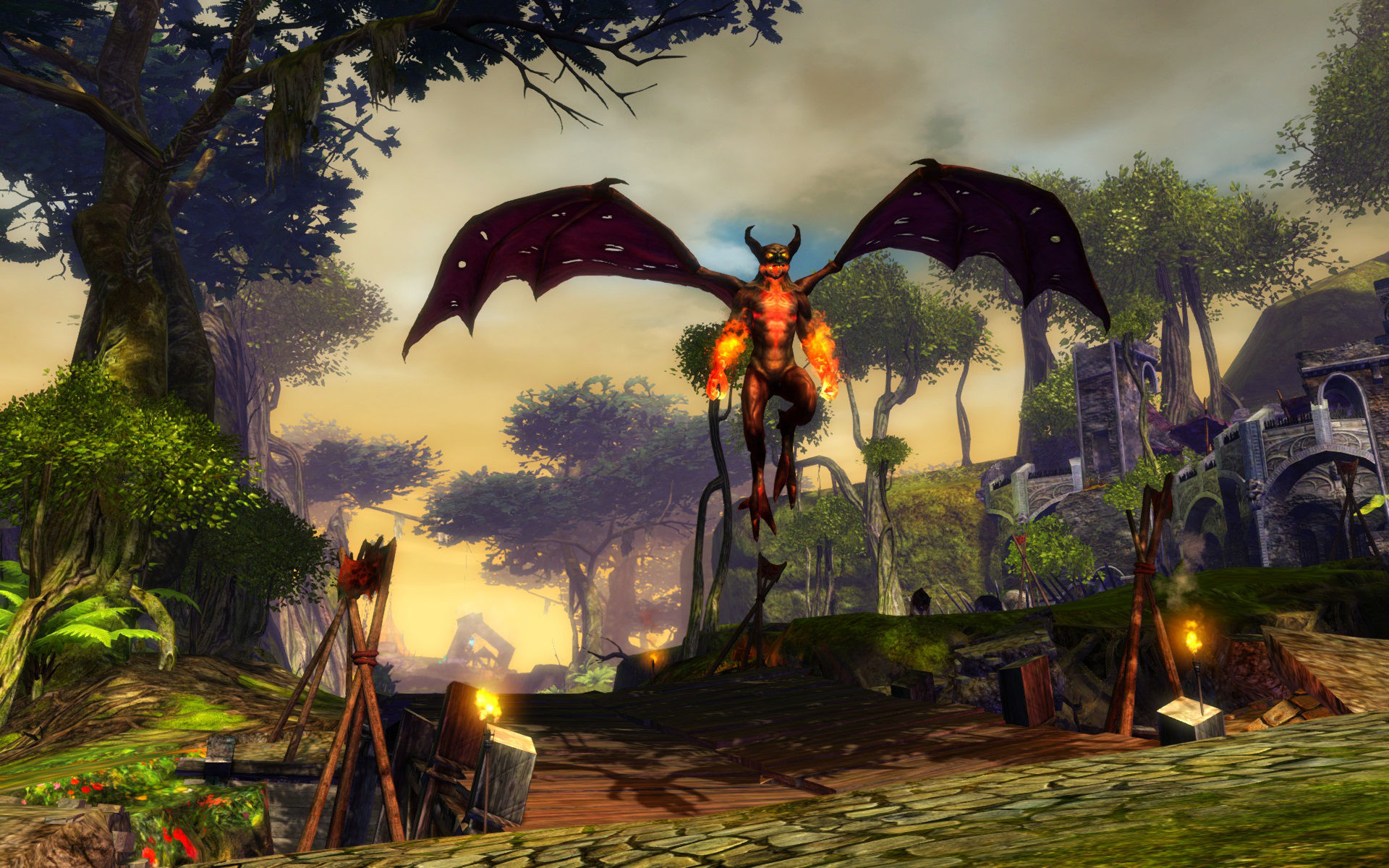 Guild Wars 2 lets your character swap servers