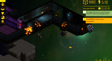 Double Fine's Spacebase DF-9 now at Alpha 5, illness and injury now a threat