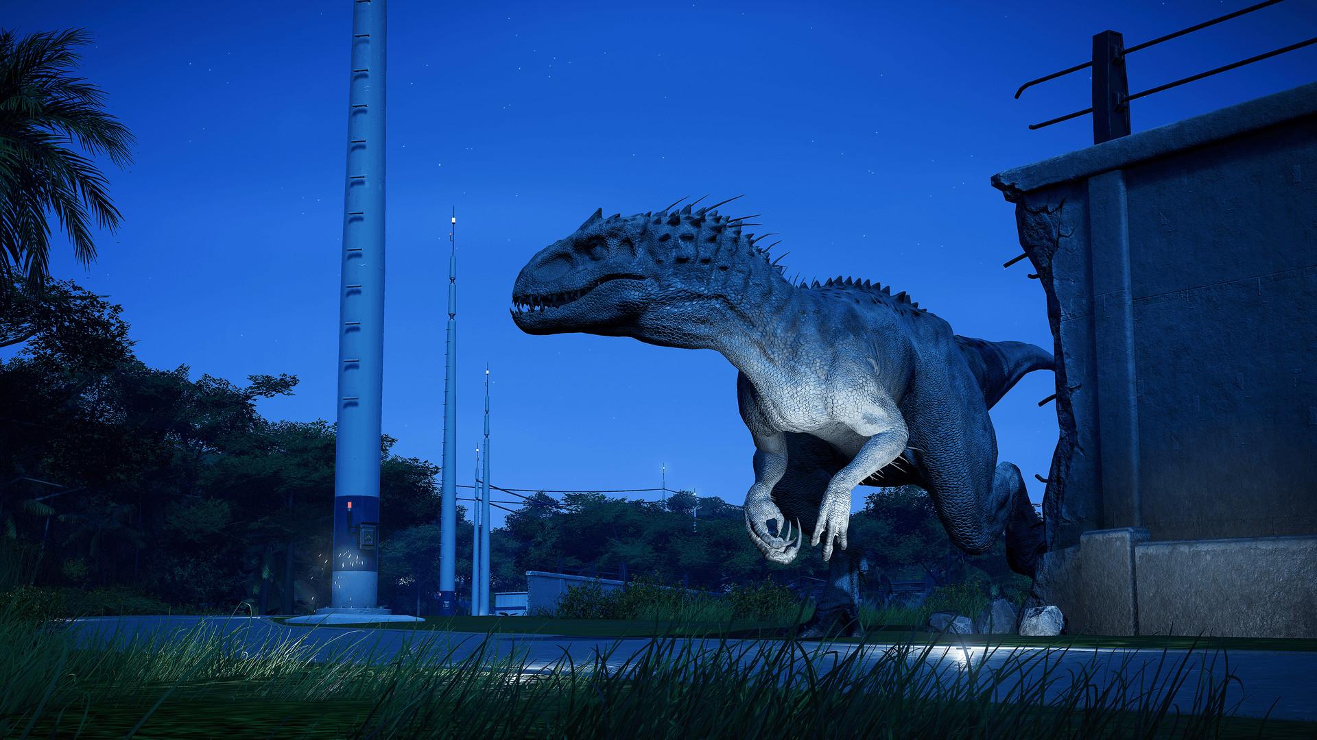 Jurassic World Evolution How To Get The Indominus Rex Gamewatcher
