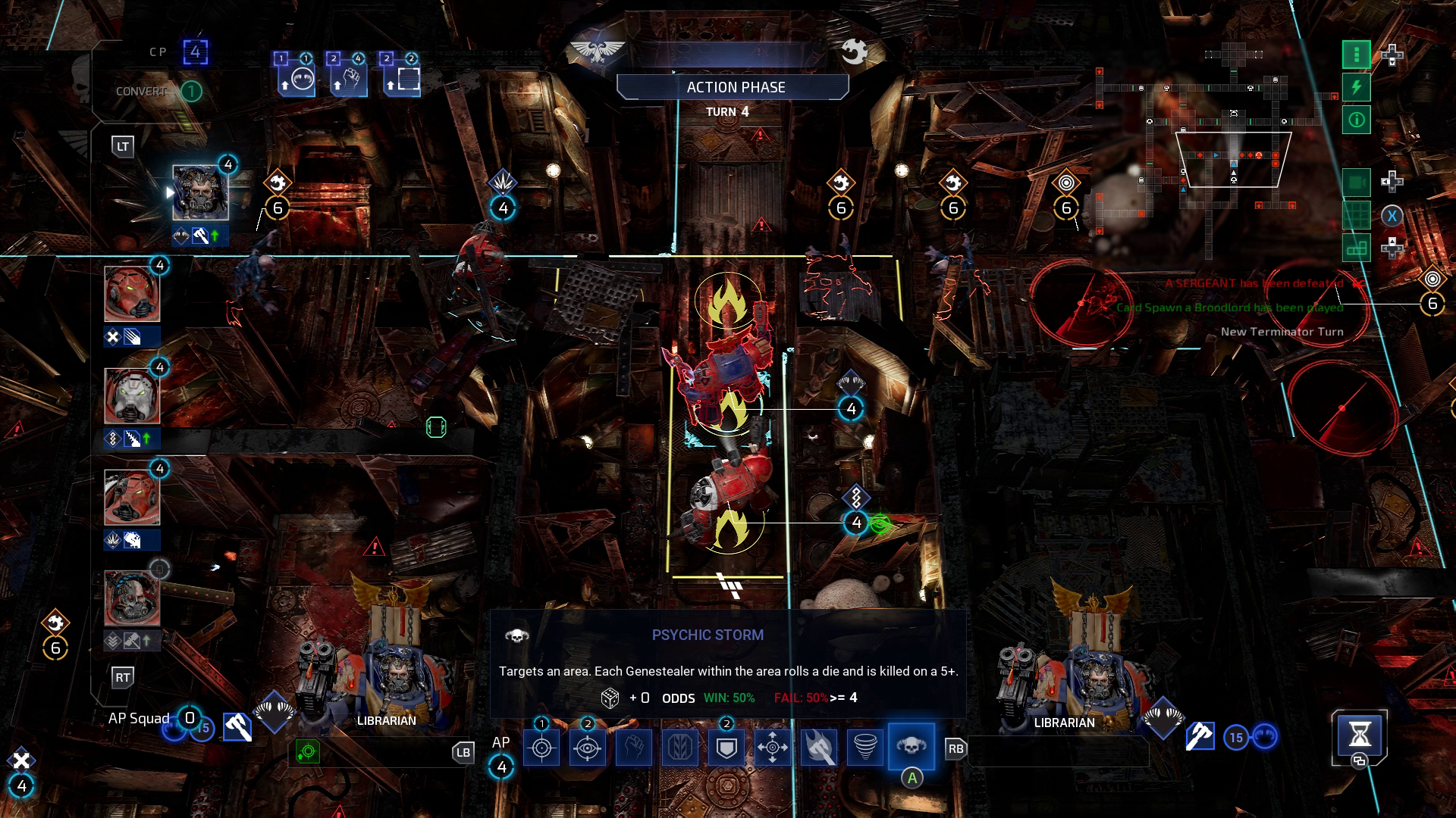 Space Hulk: Tactics PC Preview | GameWatcher