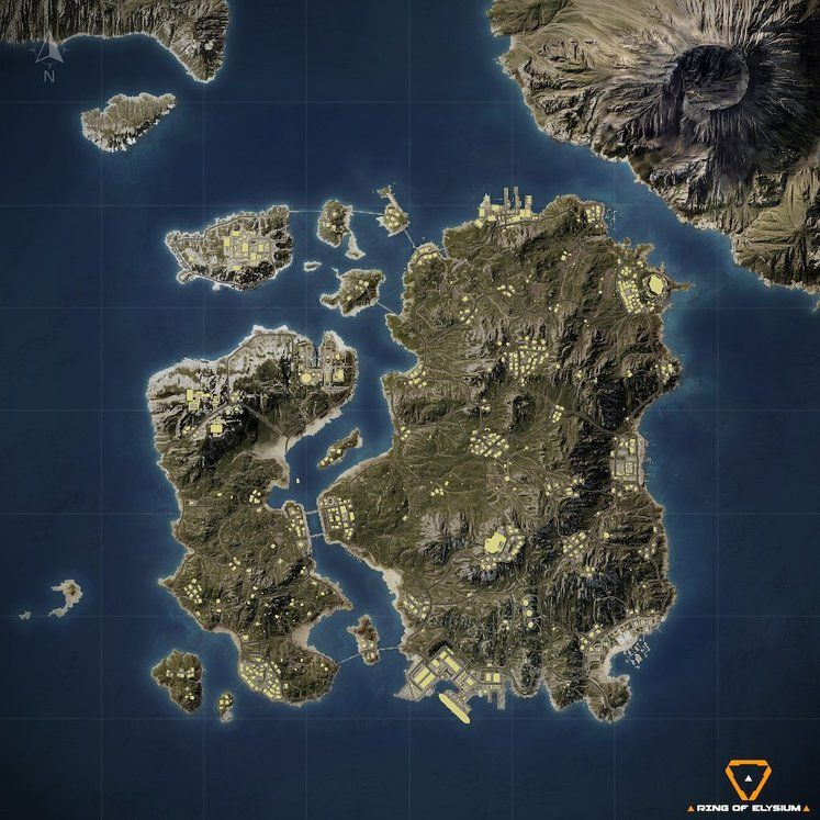 Ring of Elysium Season 2 Map Revealed, With Not Much Snow in Sight