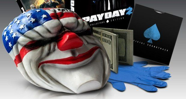 Payday 2 Collector's Edition adds mask, gloves and music