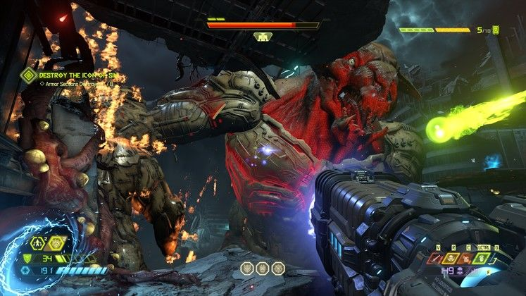 Doom Eternal Icon of Sin - How to Defeat Final Boss and Ending
