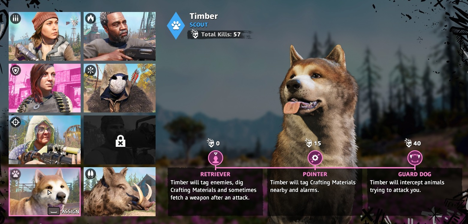 Far Cry New Dawn Timber How To Get The Dog Ally Gamewatcher