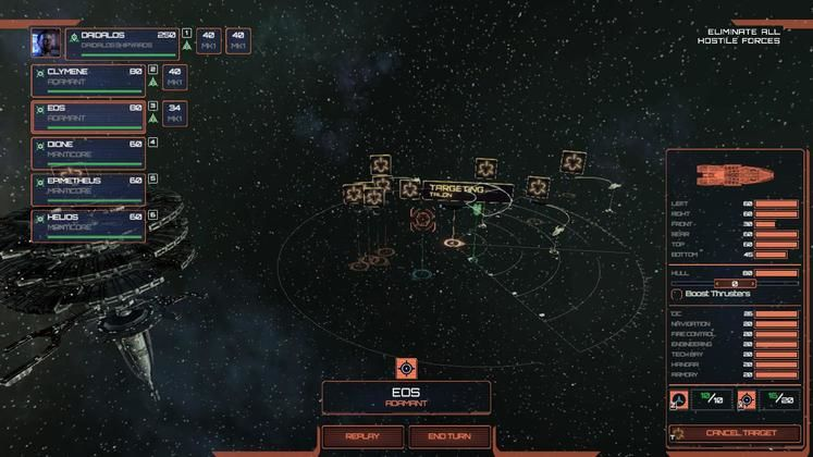 Micromanaging your ships is key to achieving victory