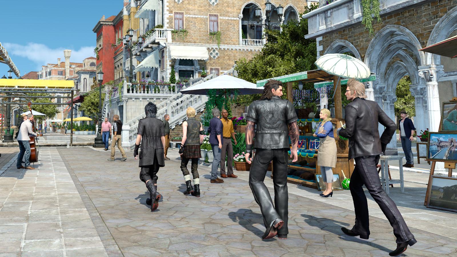Final Fantasy XV PC Preview   GameWatcher