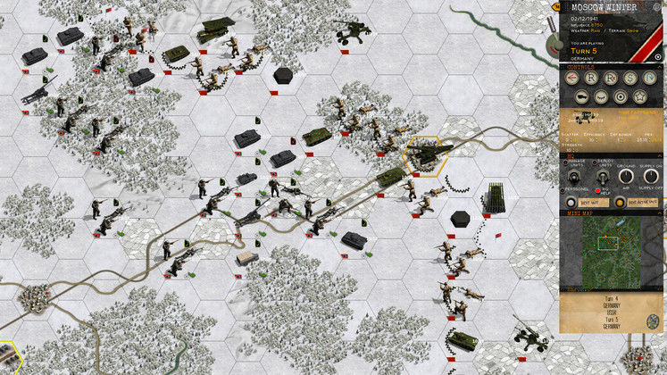 World War II Turn-Based Wargame Klotzen! Panzer Battles Announced