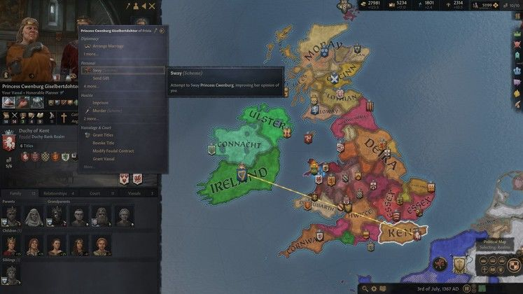 Crusader Kings 3 Vassals, Opinions, and Dread Guide