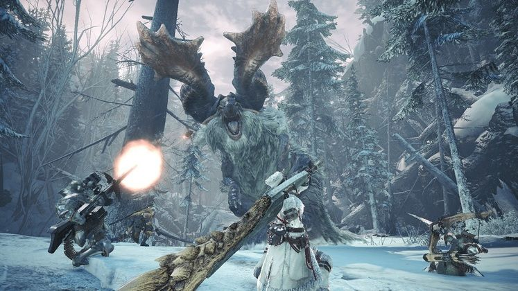 Monster Hunter World: Iceborne Gets Early January Release Date