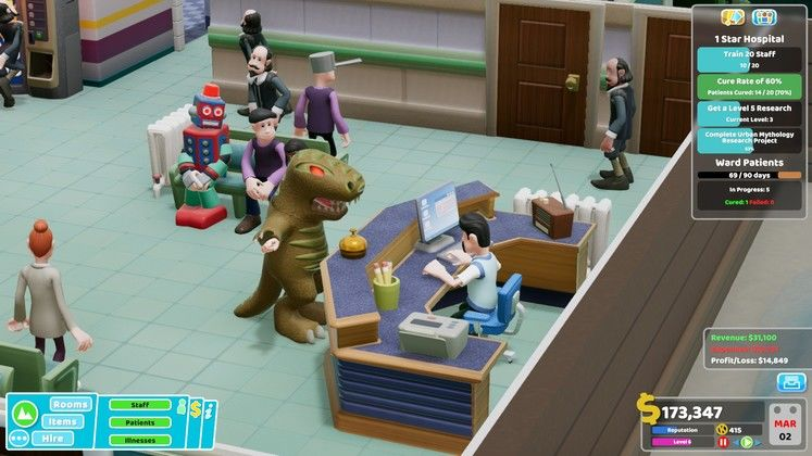 Two Point Hospital Bigfoot DLC Levels - How to Unlock the DLC Hospitals