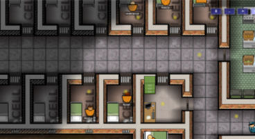 Prison Architect now at 'alpha 4', updates Fog of War feature