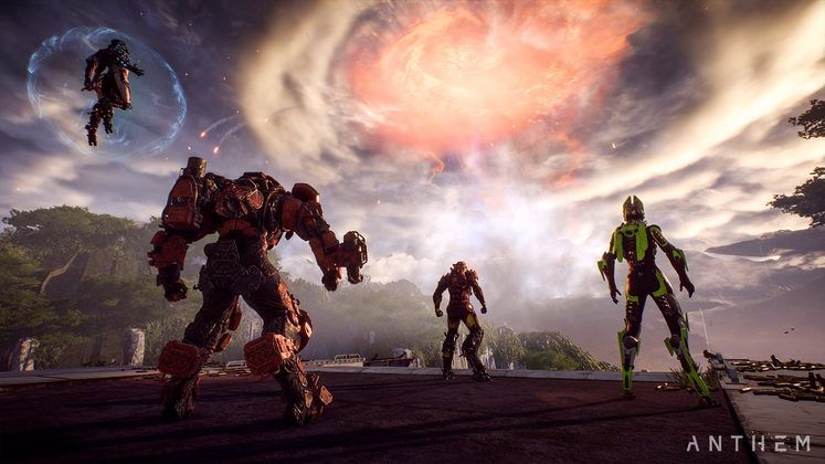 Anthem is making EA reconsider their Game Launching Process