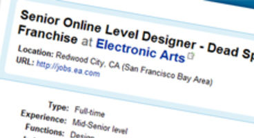 Dead Space 2 to have online multiplayer, EA job ad reveals ambition