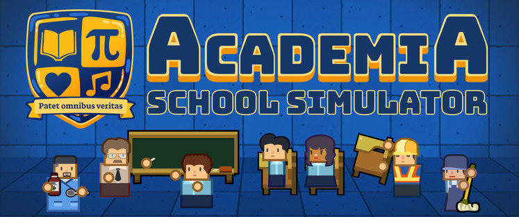 Academia is a school management game from developers of Political Animals and Prison Architect, out now