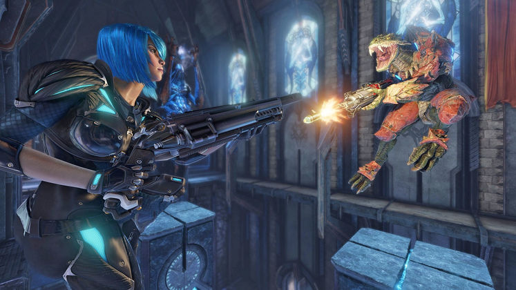 Quake Champions: Latest Dev Diary tackles Performance Improvements