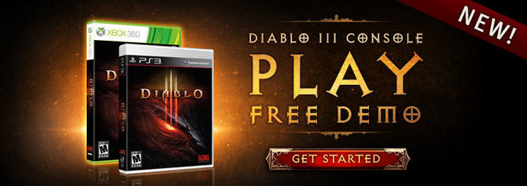 Diablo III demo now available for 360, PS3