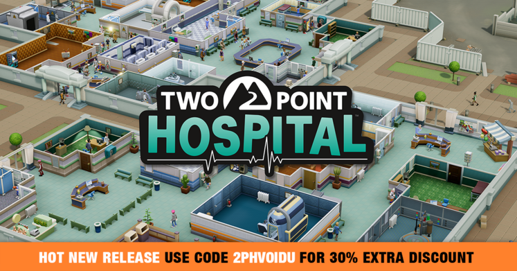 Get Two Point Hospital for just £13.38/$19.84 - but only for the next few hours!