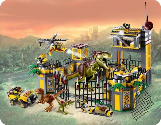 Leaked memo reveals Jurassic World Lego game