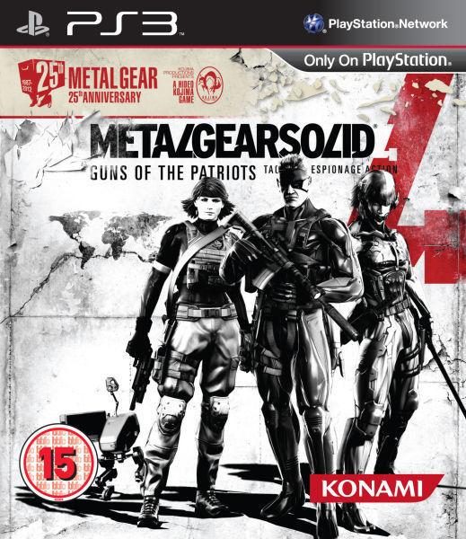 UK retailers leak Metal Gear Solid 4 25th Anniversary Pack
