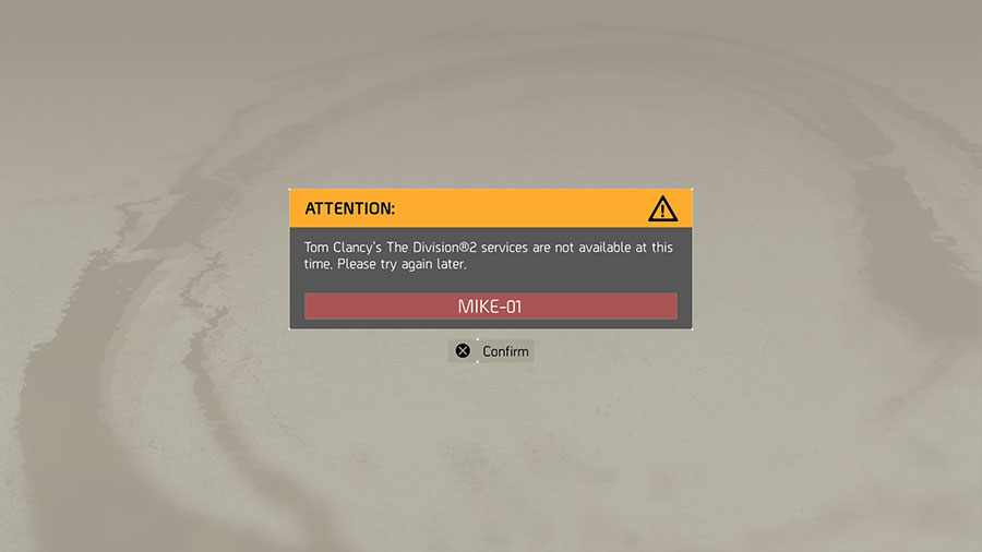 The Division 2 Server Status - Why is it down for Maintenance