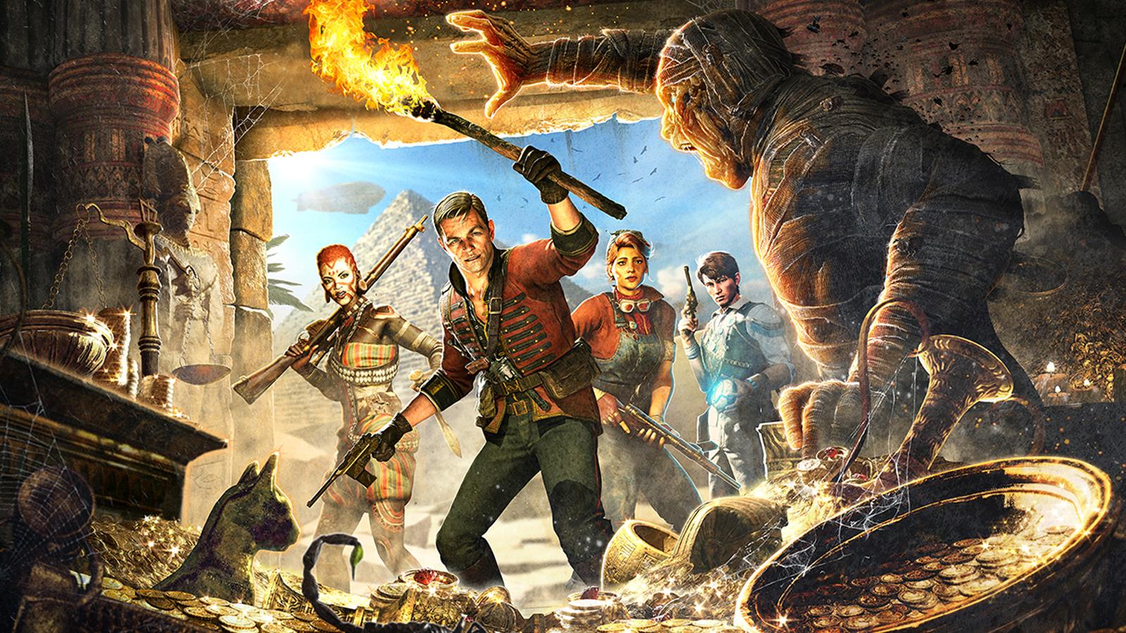 Zombie Army successor Strange Brigade shows off a new ...