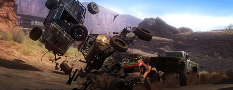 Concrete intel has hit the net on 'Motorstorm 2' with some screens