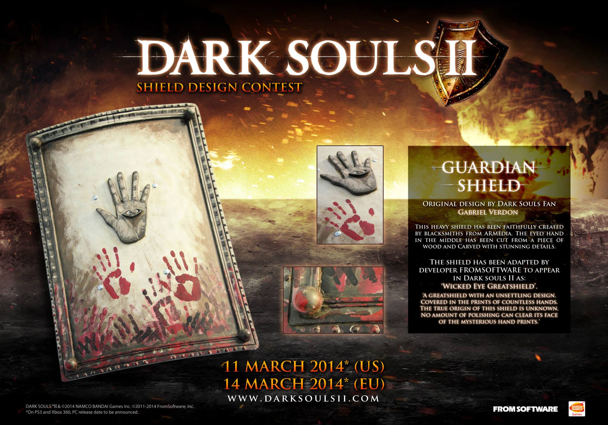 Dark Souls II includes six original community designed