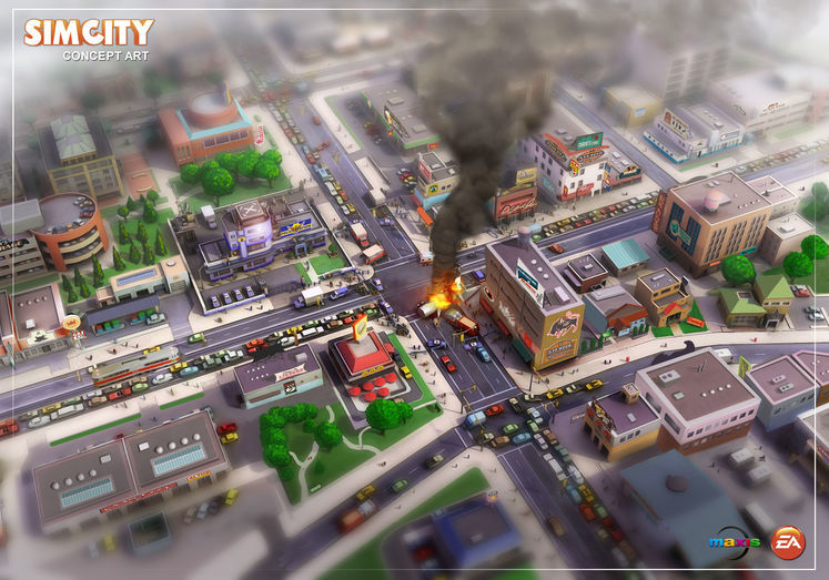 SimCity will be sold outside of Origin, requires internet connection to play