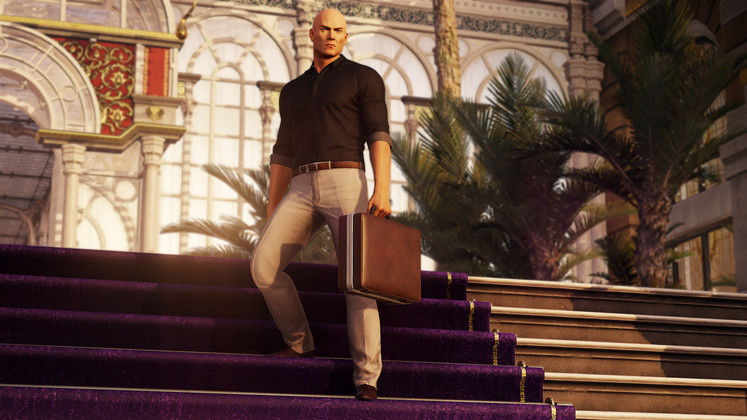 HITMAN 2's Winter Sports Pack Lets You Annoy People With Snowballs
