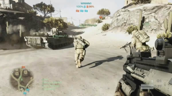Battlefield 3 multiplayer adjustments logged