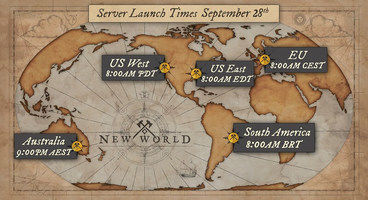 New World Launch Times - Here's When the MMORPG Releases