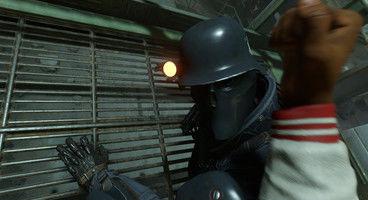 Wolfenstein 2's first proper DLC out now, barrel through Nazis as a pro football player