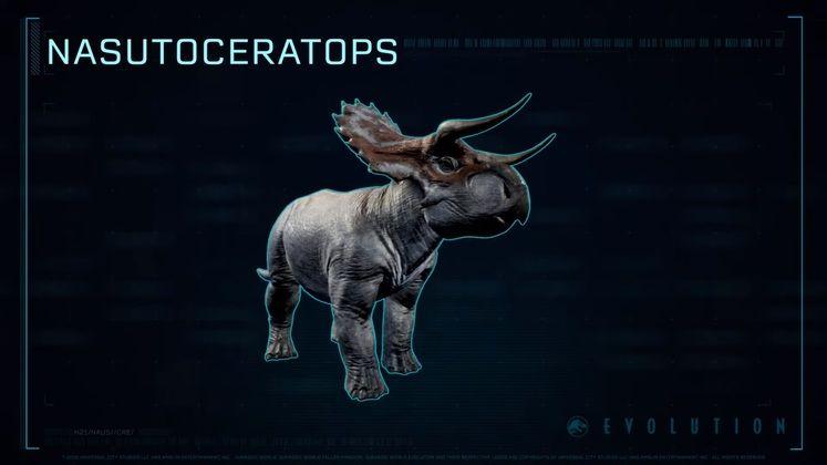 Jurassic World Evolution adds Nasutoceratops in Free Update