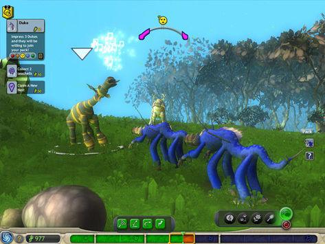 Spore incentive for Brits, Creature Creator