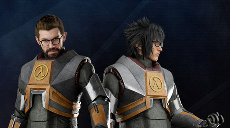 Gordon Freeman comes to Final Fantasy XV in the Half-Life Pack
