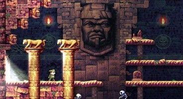 La-Mulana's ninja archeologist explores Steam on the 15th April