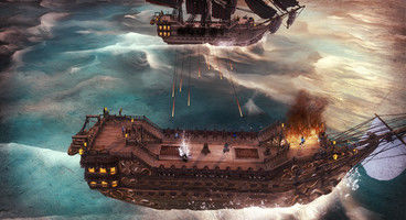 Abandon Ship is a fantasy ship exploration game that combines FTL with Sunless Sea