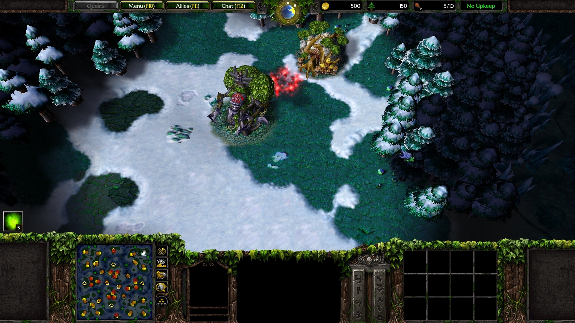 Warcraft iii: the frozen throne game mod warcraft iii mod: nirvana.