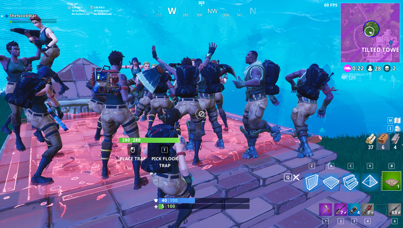 Fortnite Players Hold Massive Tilted Towers Wake Ceremony In