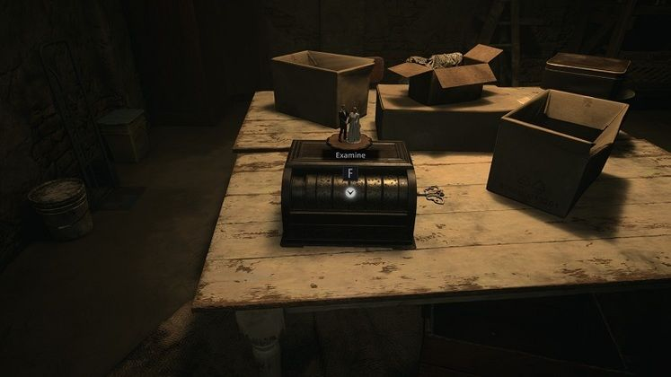 Resident Evil Village House Beneviento Music Box Puzzle - Getting the Tweezers from the Storage Room