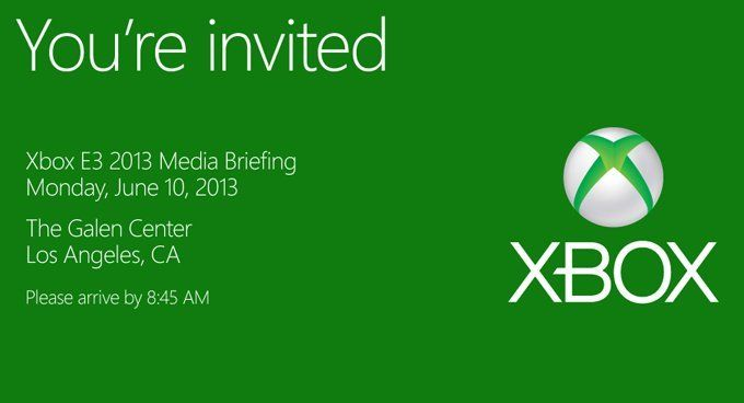 Microsoft announces E3 press briefing for 10th June