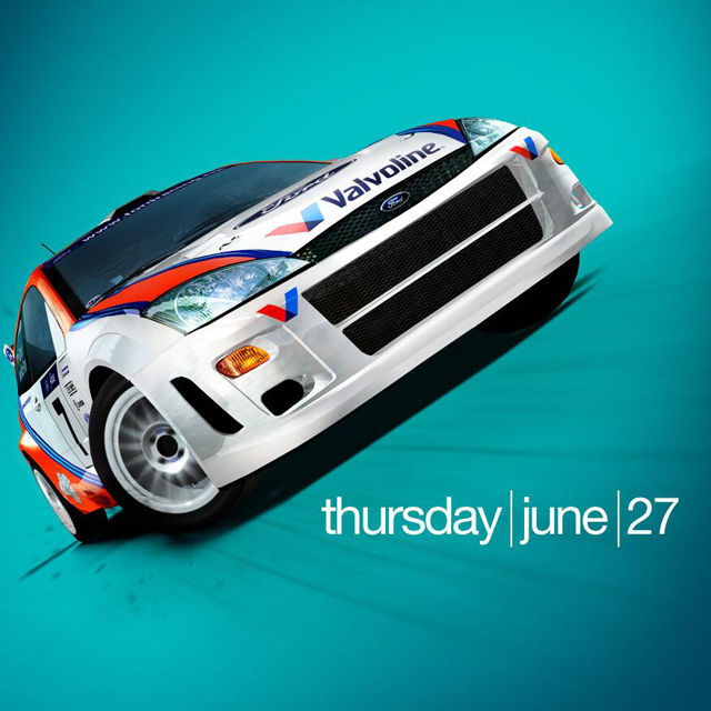 Colin McRae image with June 27 date posted by Codemasters
