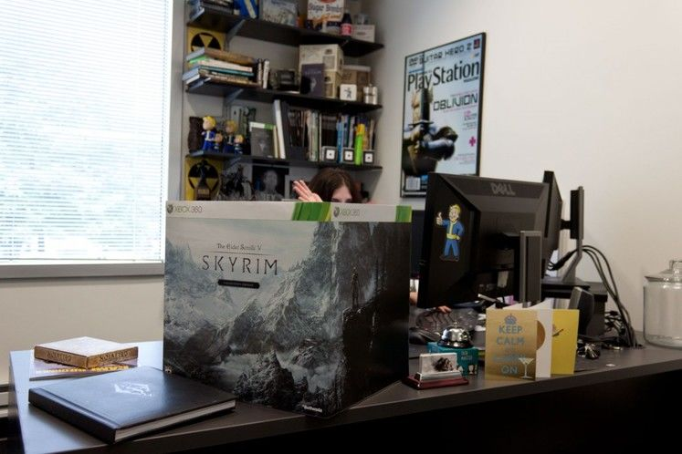 The Collector's Edition of Skyrim is massive