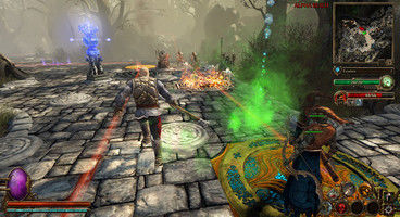 Coming to Steam Early Access this month, Deathtrap is gory tower defence with a splatter of action RPG