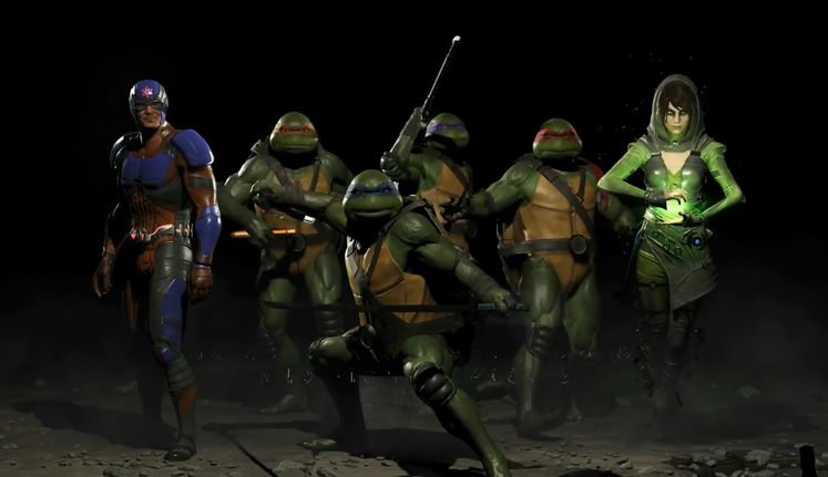 Teenage Mutant Ninja Turtles coming to Injustice 2