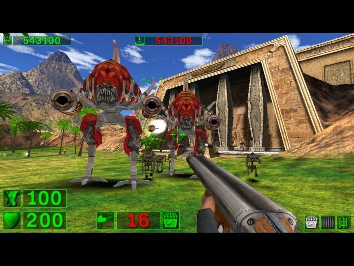 Serious Sam: The First Encounter is free on GOG Today