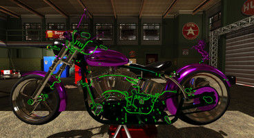 Motorbike Garage Mechanic Simulator is now available