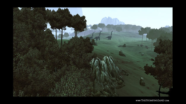 Dinosaur survival sandbox The Stomping Land coming to Steam Early Access May 23